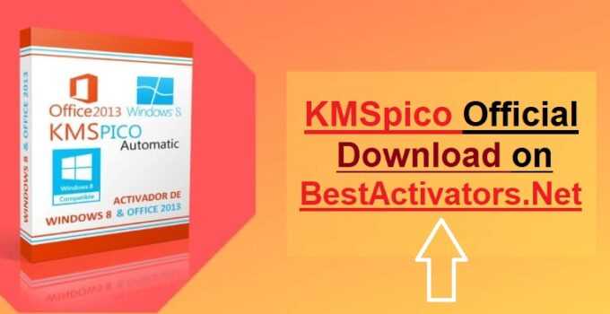 KMSpico Download Final Activator For Windows & Office 2020