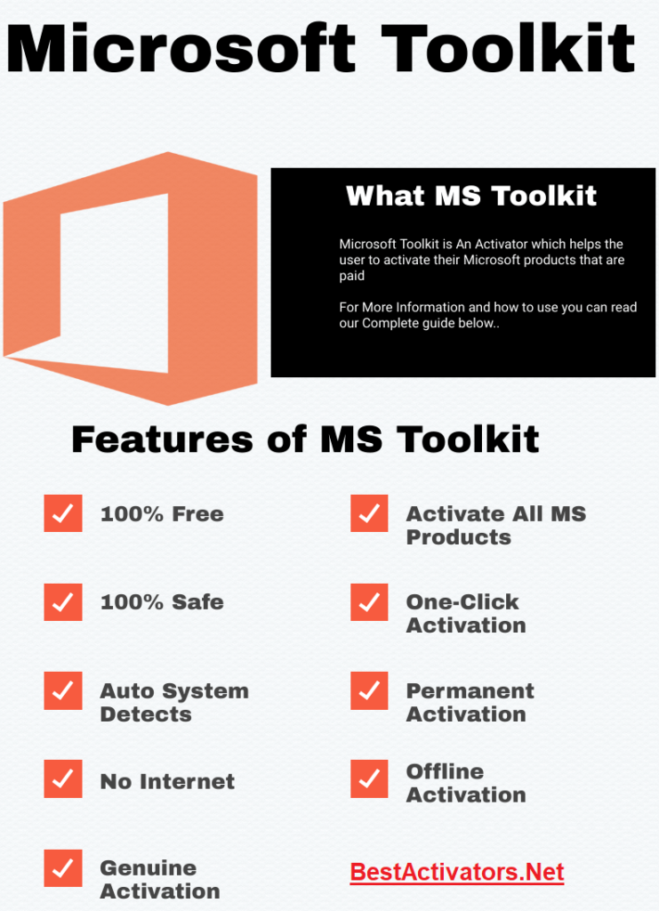 Features Of Microsoft Toolkit