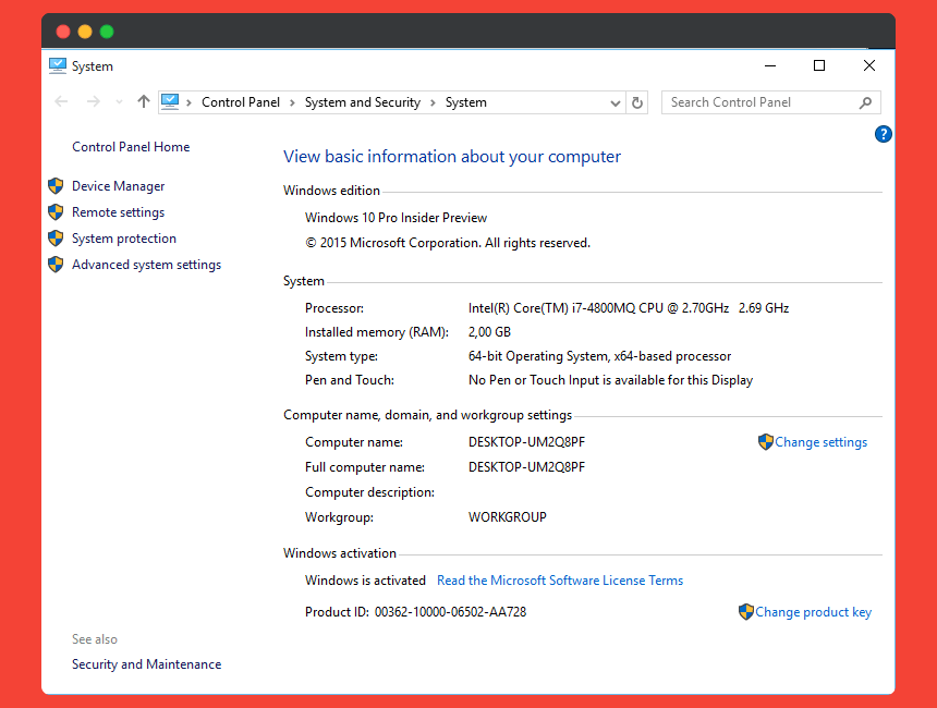 windows 10 is activated now