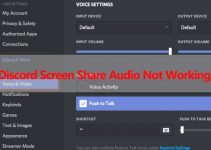 Discord Screen Share Audio not working: How to Fix?