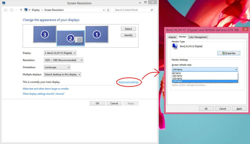 How to Enable 144Hz in Your Monitor
