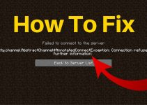 Fix Minecraft io.netty.channel.abstract channel $annotated connect exception Connection refused No Further Information