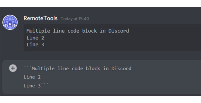How to Format Text and Use Code Blocks in Discord